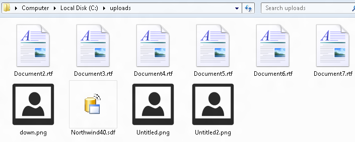 drag and drop file upload example