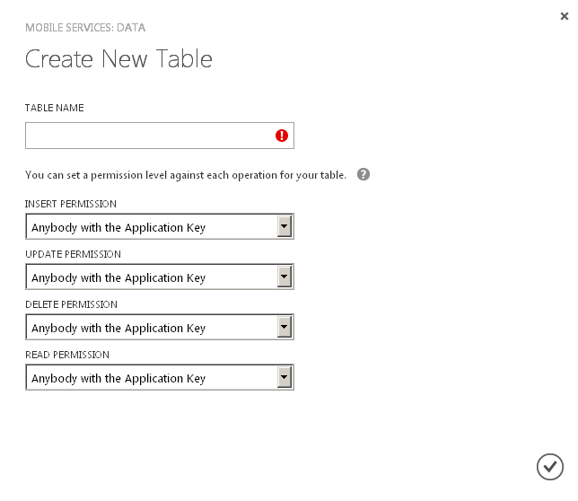 Using Azure Mobile Services in your web apps through ASP NET