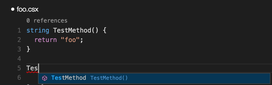 Running C# scripts and snippets in Visual Studio Code with